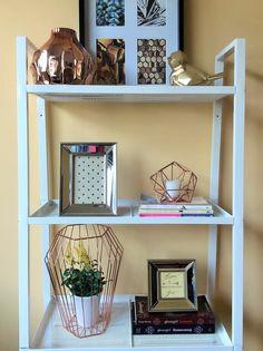 How To Style An IKEA Lerberg Shelf