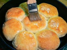 Cast Iron Skillet Buttermilk Biscuits