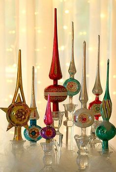 Vintage Christmas Tree Toppers_