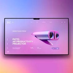UI / UX on Behance - Eine Plattform mit allen Designs Design Web, Web Design Tutorial, Page Design, Minimal Web Design, Website Layout, Web Layout, Layout Design, Website Ideas, Gui Interface