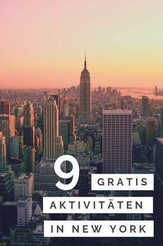 9 kostenlose New York Aktivitäten: So erlebst du New York ganz ohne Geld. - Travel New York - Ideas of Travel New York Europe Destinations, Europe Travel Tips, Travel Usa, Free Travel, Tulum, Visit New York, Vacation Ideas, Nyc, New York Activities