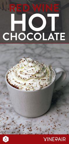 Red Wine Hot Chocolate [VIDEO]