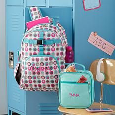 Send Playful Print Double Dots Backpack Collection and other personalized  gifts at Personal Creations. fcb473a8c5