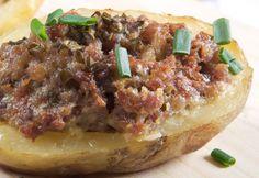 Ofenkartoffeln mit Hackfleisch super Idee