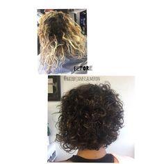 #curlyhairdontcare #curlyhair #curlstraight  #curls #blonde #burnette #bobhaircut #curlybob #undercut #haircut #hairstylist #texturedhair #tuesdaytransformation #hotd #hairbyjanetsalmeron  #curlyhair #washandgo #blackandbeautiful #nappy #fro #twistout #afro #bighair #braids #twists #shrinkage #bigchop