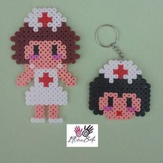 Nurses hama beads by 19arte84