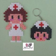 Nurses hama beads by 19arte84