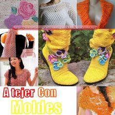 Materiales gráficos Gaby: Moldes de blusas ,botas ,apliques y ponchos