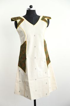 Khadi Jamdani dress
