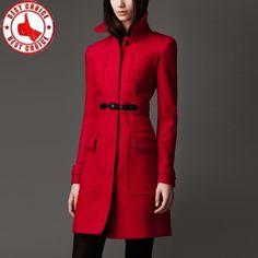 uk availability b5730 773db Die 10 besten Bilder von Roter Mantel | Jacken, Mode outfits ...