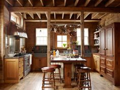 Small Rustic Kitchen Ideas back to kitchens two tone rustic walnut kitchen this two tone