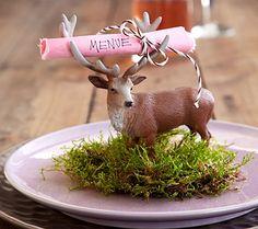 Schlauer Platzhirsch - Tische herbstlich dekorieren 5 - [LIVING AT HOME]