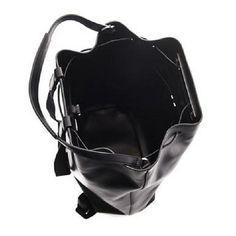 The Row Leather backpack Black