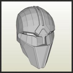 Star Wars - Sith Acolyte Mask Free Papercraft Download - http://www.papercraftsquare.com/star-wars-sith-acolyte-mask-free-papercraft-download.html
