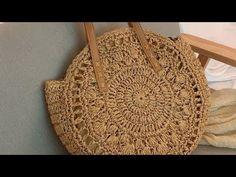 Tığişi El Örgüsü Yazlık Çanta Modelleri & Crochetbag - YouTube