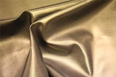 BRONZE GOLD METALLIC EXPANDABLE STRETCH FAUX LEATHER LEATHERETTE PVC VINYL UPHOLSTERY FANCY DRESS CRAFTS FABRIC