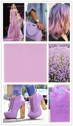 Spring 2018 LFW Color - Pink Lavender  Pink Lavender is a soft and romantic violet rose that charms with its soothing sense of quiescence.  #color #pinklavender #pantone #spring2018