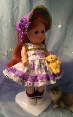 PLAY TIME doll clothes FIT Ginny Madam Alexander Wendy Muffie Pam Ginger RoseBud | Dolls & Bears, Dolls, Clothes & Accessories | eBay!