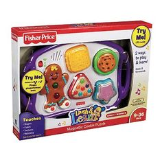 Fisher-Price Laugh and Learn Magnetic Cookie Puzzle