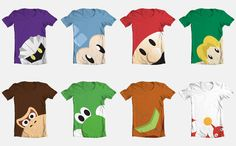Video Game T Shirts by Videoboysayscube.deviantart.com on @deviantART  LINK!!!!