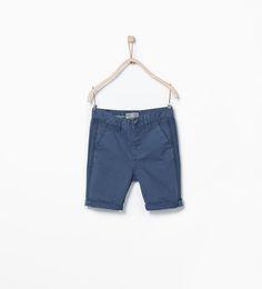 ZARA的图片 1 名称 側帶飾百慕達短褲