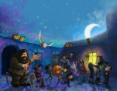 Andy Catling Illustration and Art♥.•:*´¨`*:•♥Halloween.