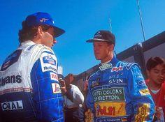 Senna vs Schumacher | Smile Greek