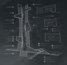 evan shieh + ali chen propose blue tape architecture school in dubai - designboom | architecture design magazine