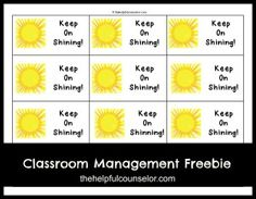 Behavior Management Raffle Ticket Free Printable
