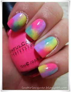 Luster Lacquer: Abstract Nail Art