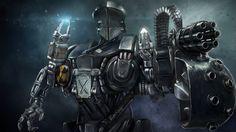 Robocain - Robocop 2 Fan Art by Ros Kovac