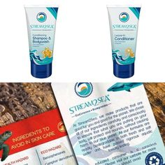 "PRODUCT OF THE DAY: We discovered Stream2Sea this summer at Outdoor Retailer and I have to say that as I get older I'm more conscious of what I use on my body and how it affects the environment. I've been known to use some of the ""best"" salon brands out there for your hair but I'm telling you nothing compares to the Shampoo & Leave-In Conditioner that Stream2Sea has put together.  They are providing eco-conscious and biodegradable sunscreen and skincare choices that address the impact…"