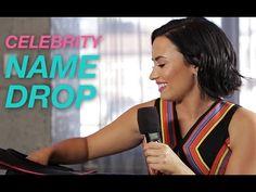 Demi Lovato Plays Celebrity Name Drop- Such a fun video! #DemiLovato