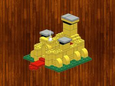 Lego creations. Simple and fun. Variations are possbile. Follow the step by step instructions at the bottom.Lego creation:Name: Lego castle miniAge: Starting from 6 years oldNumber of blocks: some bricksCategory: Animalslego/first/building-castle-mini.jpg...