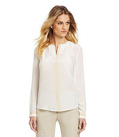 Antonio Melani Ruby Colorblock Blouse #Dillards