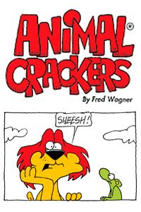 Animal Crackers by Fred Wagner: Lyle the lion, Eugene the elephant and the rest of these civilized animals deliver a glimpse of life in the Freeborn Wildlife Preserve. Animal Crackers' brief text and clean drawings are great for kids. These adorable animals will have readers laughing, as Wagner uses various animals to entertain with simple humor. | http://gocomics.com/animalcrackers | #comics #animals #dogs | © Tribune Media Services