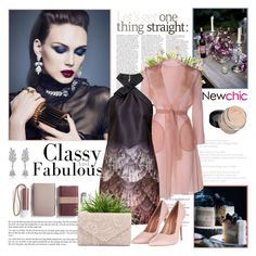 """""""NewChic 2 . 23.12.2016"""" by goharkhanoyan ❤ liked on Polyvore featuring Parlor, LEXON, MaxMara, Ted Baker, Topshop and newchic"""