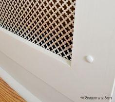 oslona na grzejnik wnetrze moze byc z blachy perforowanej lub blachy ażurowej; Modern Classic: Ogrzać lato