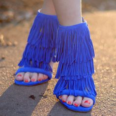 Steve Madden Fringly Sandals