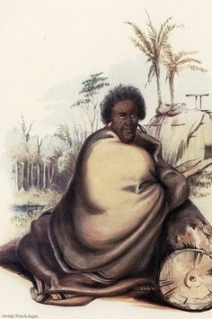 Māori concerned about land sales around the Waikato River prior to 1863 placed their lands under the mana of Pōtatau te Wherowhero and proclaimed him as King. Pōtatau was crowned as the first Māori King at Ngāruawāhia in Nz History, History Books, History Facts, Maori Tribe, Maori People, Maori Art, Aboriginal Art, Body Art Tattoos, Historia