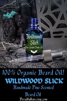 All DB's Beard oils are made with 100% Essential Oils and Carrier oils to not only provide an amazing scent but also provides moisture to beard hair and help promote hair growth on skin with the awesome qualities of Cold-Pressed Avocado Oil & Coconut Oil. Get one of these bad boys @ Dreadful Bats on Etsy! Pine Essential Oil, 100 Essential Oils, Diy Beard Oil, Glass Dropper Bottles, Cedarwood Oil, Beard Look, Carrier Oils, Hair And Beard Styles, Organic Oil