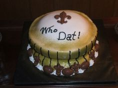 Thanks to Catrina M for sending us this picture! #Saints #NOLA #cake