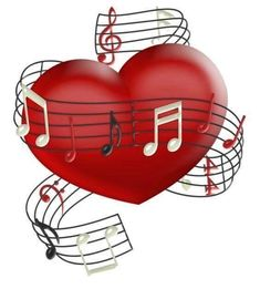 By artist unknown groovy music images music heart, music Music Notes Art, Art Music, Music Songs, I Love You Hubby, Harley Davidson Images, Red Heart Tattoos, Arte Quilling, Music Heart, Stylist Tattoos