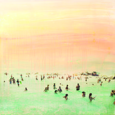 Summer Again by Joshua Jensen-Nagle This Is Us, Art Gallery, Beaches, Artist, Artwork, Summer, Photography, Painting, Art Work