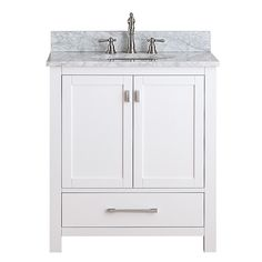 Modero White 30 Inch Vanity Only Vanities Bathroom Vanities Bathroom Furniture