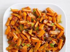 Get delicious vegetable side dish recipes, including those for roasted carrots, zucchini fritters and charred green beans, from the expert chefs at Food Network Kitchen. Healthy Side Dishes, Vegetable Sides, Vegetable Side Dishes, Healthy Sides, Carrot Recipes, Healthy Recipes, Meatless Recipes, Meat Recipes, Healthy Meals