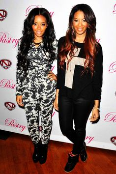 Angela and Vanessa Simmons have the best weaves/extensions!!