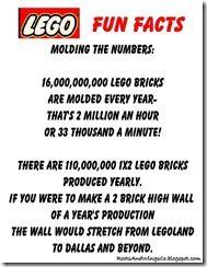 Lego Fun Facts 1