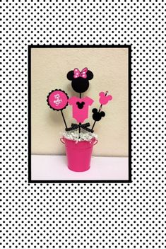 Minnie Mouse Baby Shower Decoration Centerpieces By TheGirlNXTdoor, $13.50