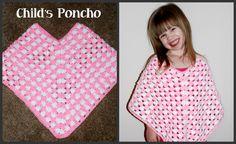 Child Poncho Crochet Tutorial Poncho Instructions: http://crochetjewel.com/?p=15203 Follow Me on My Crochet Jewel You tube channel: https://www.youtube.com/u...
